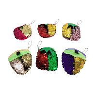 "4.5""x4"" Reversible Sequin Change Purse [Fruit]"